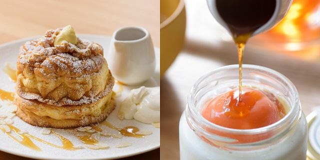 ふわふわパンケーキに生パスタ!青森のプリン専門店が手がけるカフェが大盛況