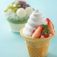 大阪新阪急ホテル【「ソフトクリームみたいな、ケーキ。」「かき氷みたいな、 ケーキ。」】