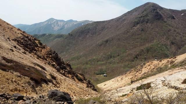 西側の谷あい
