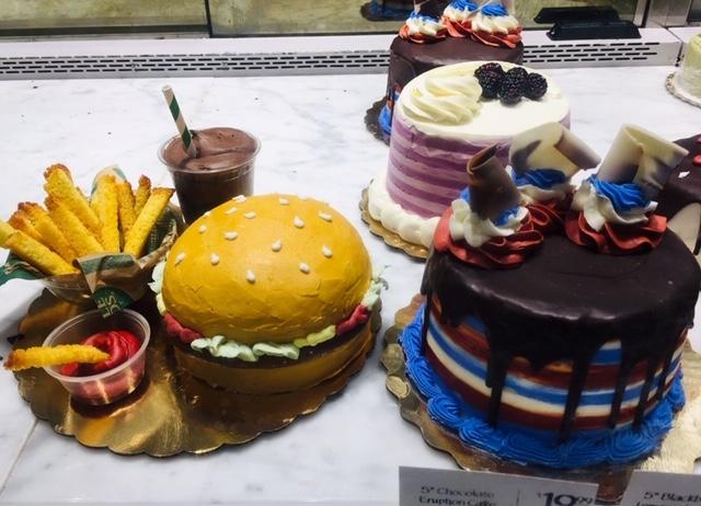 ハンバーガーケーキ