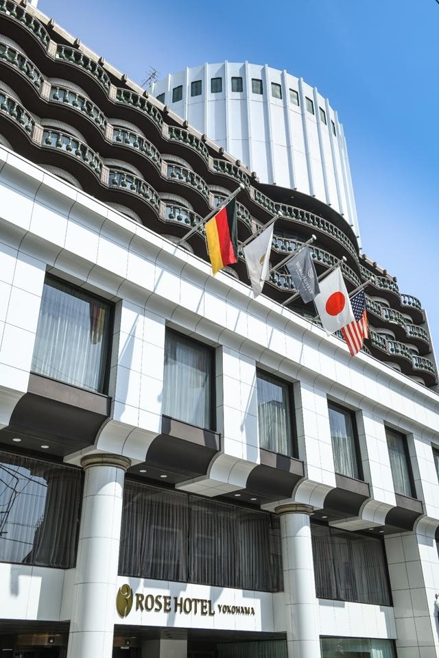 ローズホテル横浜外観
