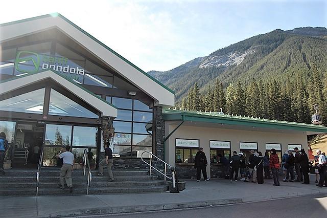 Banff Gondola バンフ・ゴンドラ