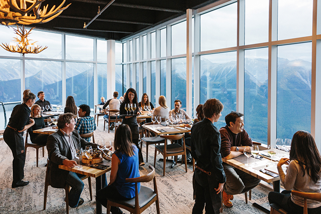 Banff Gondola Sky Bistro