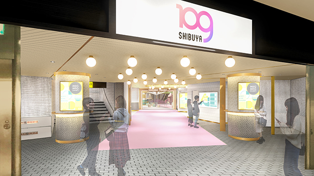 SHIBUYA109 MOGMOG STAND(モグモグスタンド)