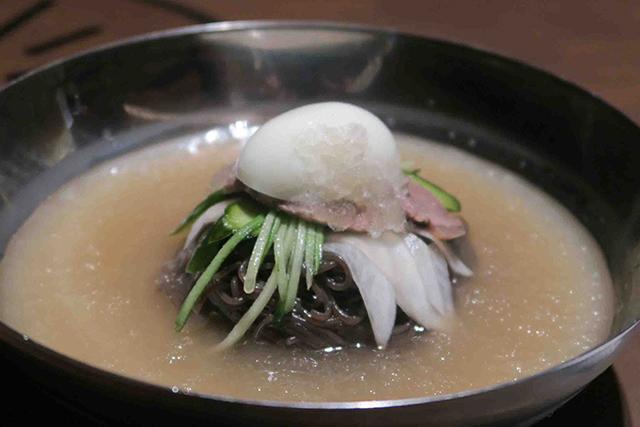 東武百貨店池袋本店「第2回 肉グルメ祭&アジアンフード」焼肉 冷麺 ユッチャン。