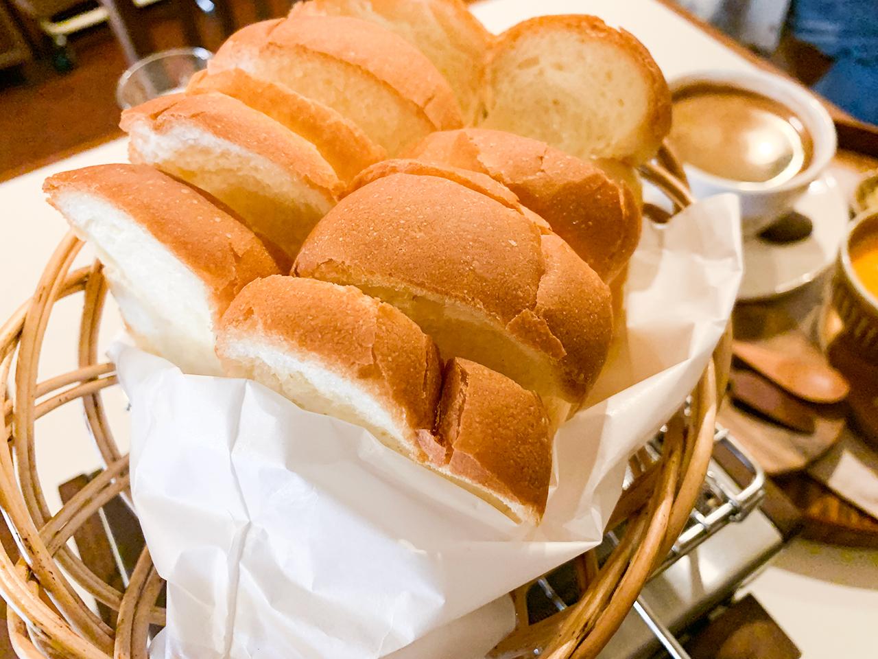 こちらがトースト用のパン