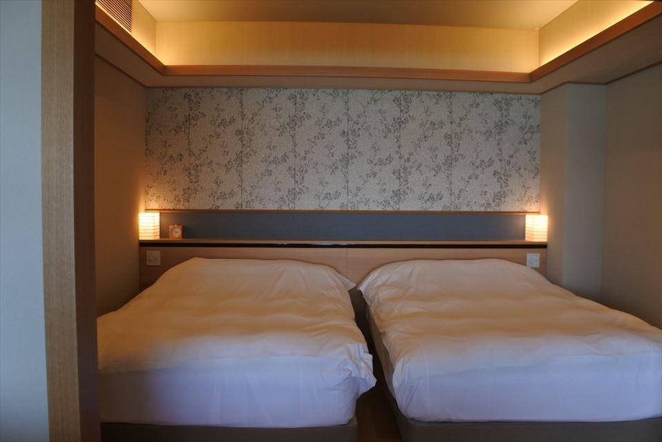 鴨川館 ベッド