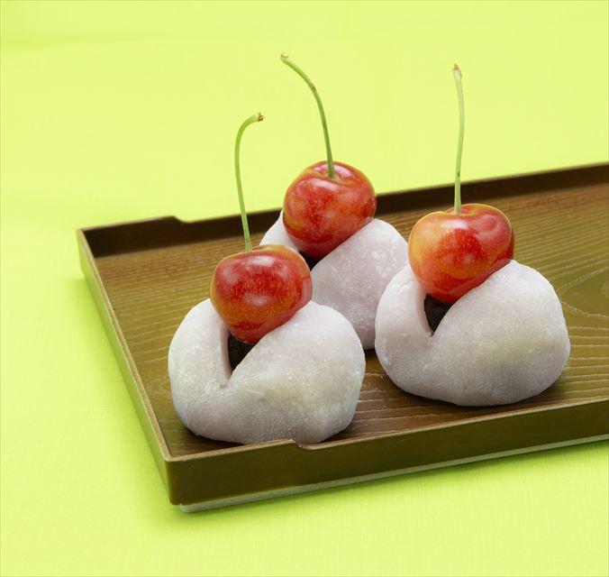 スイパラで旬のさくらんぼ食べ放題、大福やパフェなどオリジナルスイーツも!
