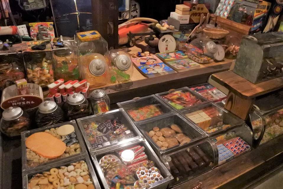 伊香保 おもちゃと人形 自動車博物館 駄菓子屋