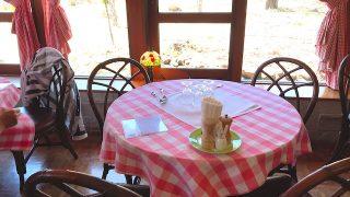イタリア料理 ミロ清里 店内