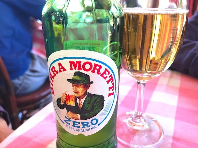 イタリア産モレッティのノンアルコール