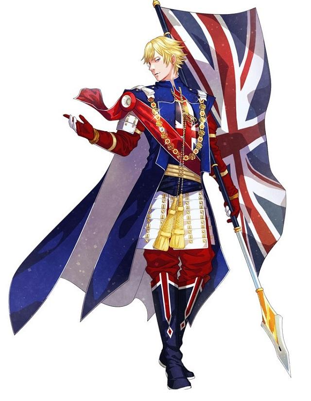 イギリスの国旗キャラクター