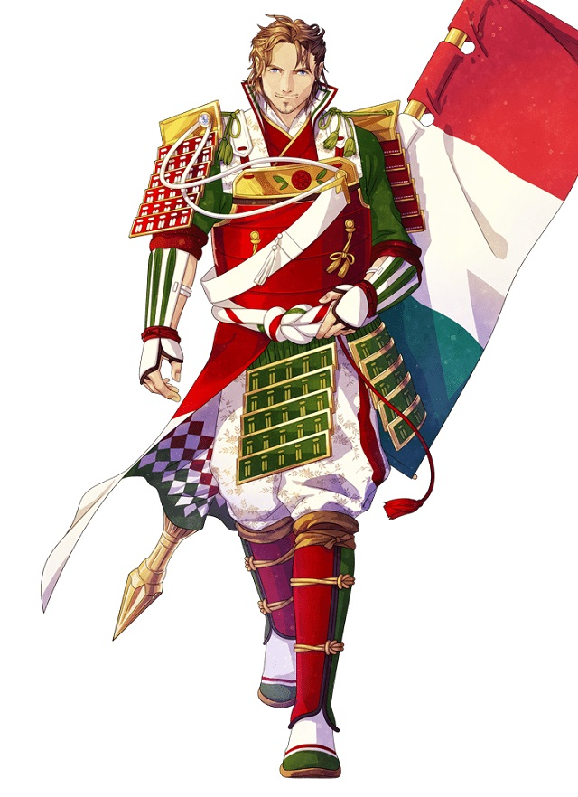 イタリアの国旗キャラクター