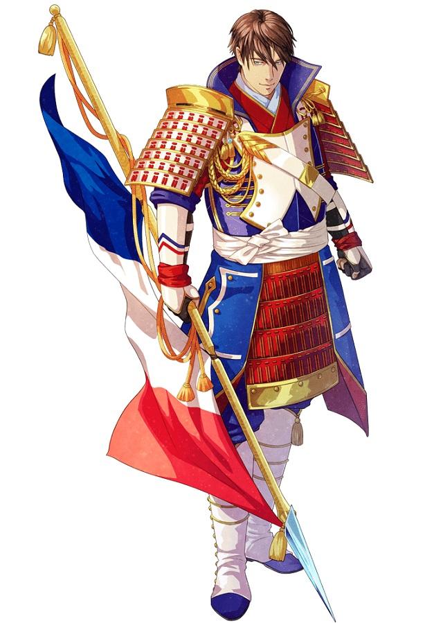 フランスの国旗キャラクター