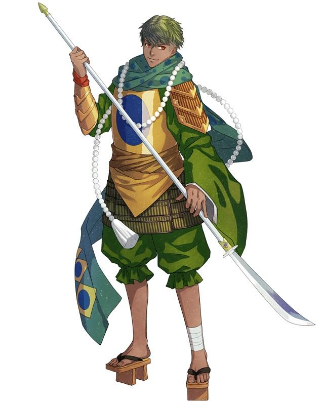 ブラジルの国旗キャラクター