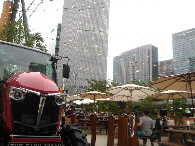 THE FARM TOKYO(ザファームトーキョー)入口