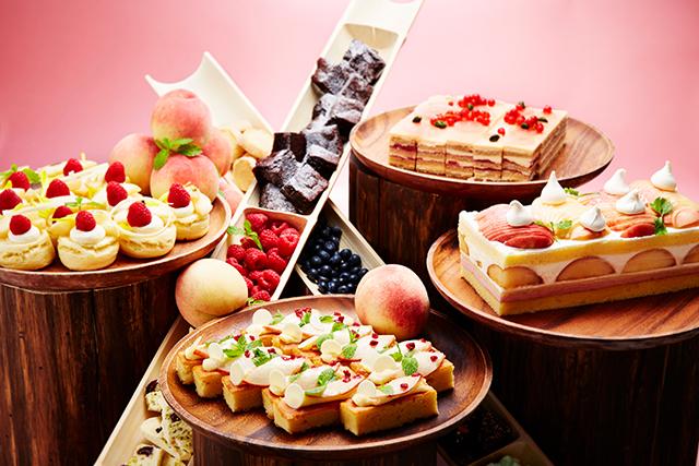インターコンチネンタルホテル大阪20FNOKA Roast & Grill (ノカ ロースト&グリル)「スイーツブッフェ「ピーチ パーフェクション」