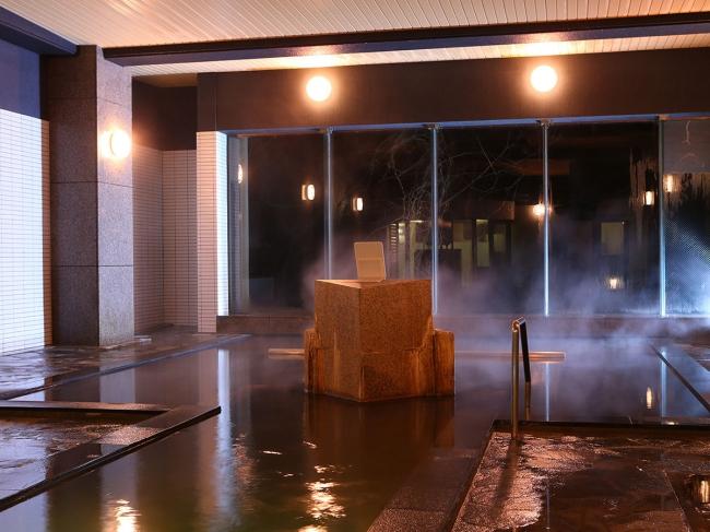 黒色のお湯 幸雲閣本館大浴場