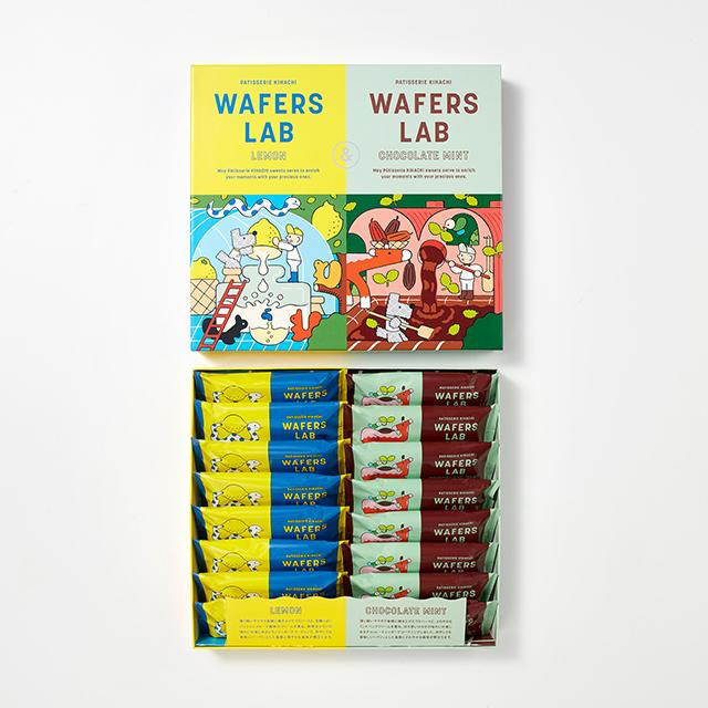 WAFERS LAB(ウエハースラボ)「レモン&チョコミント」