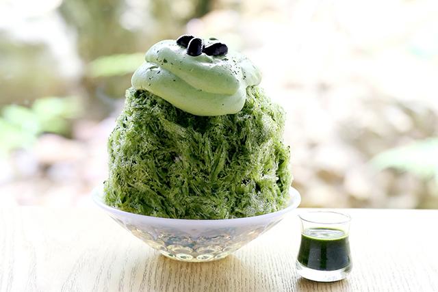 伊藤久右衛門「抹茶だいふく入りかき氷」