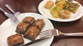 チョコレート味のバクラヴァ