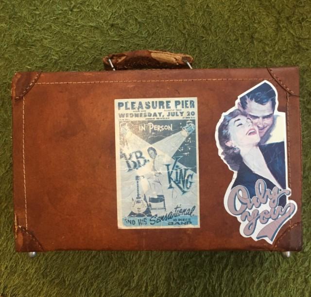 スーツケースの伝道師の革トランク