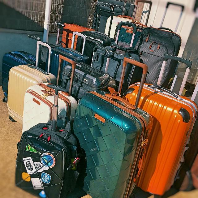 スーツケースの伝道師のスーツケース
