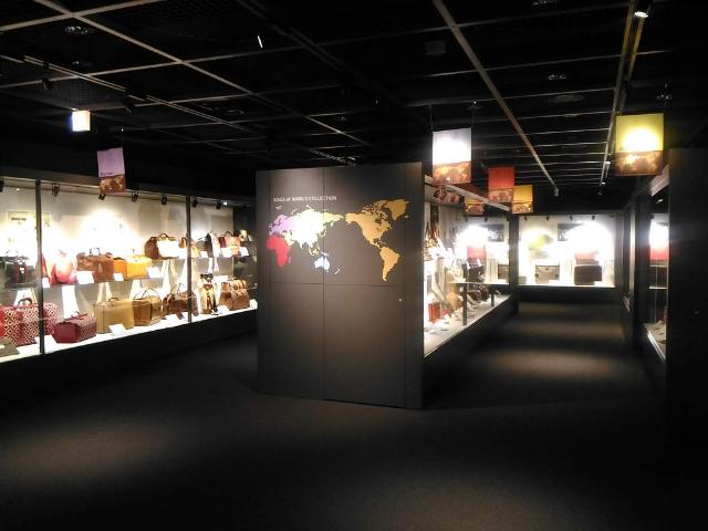 世界のカバン博物館「世界のカバンコレクション」