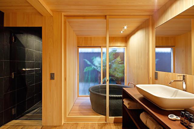 四季十楽 京都 浴室