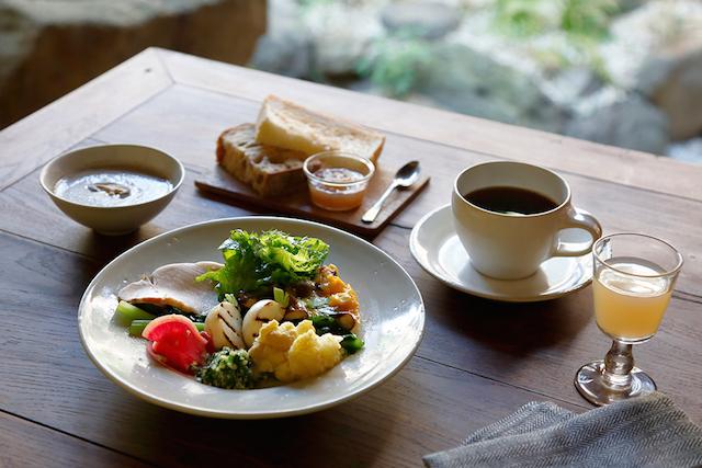 四季十楽 京都 朝食