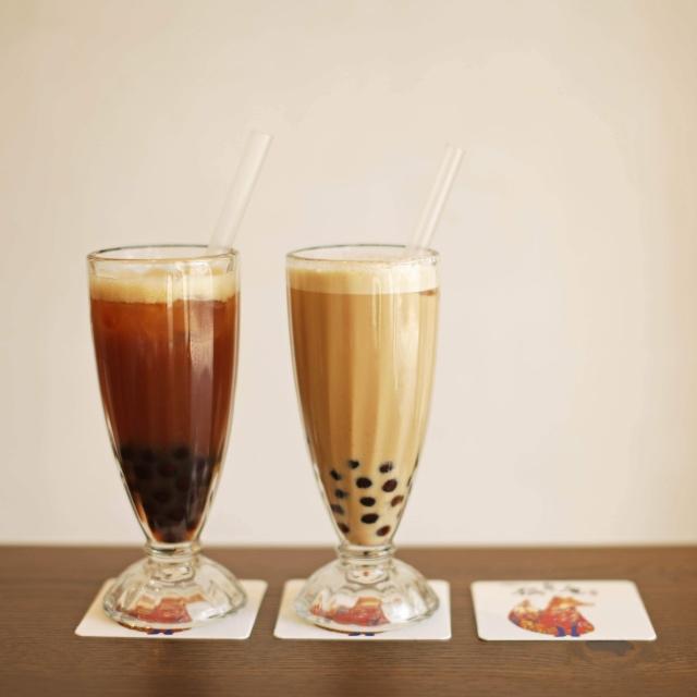 台湾茶専門店のQQなタピオカティー