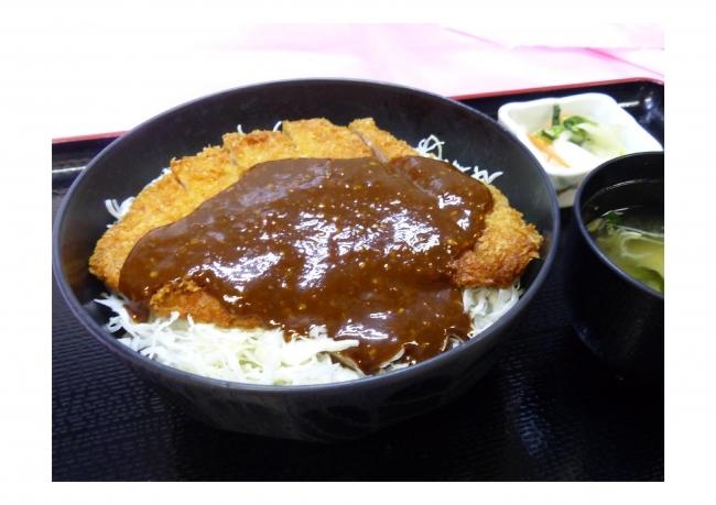 【双葉SA(下り)】 信州糀味噌・甲州味噌のコラボ2019 糀味噌かつ丼