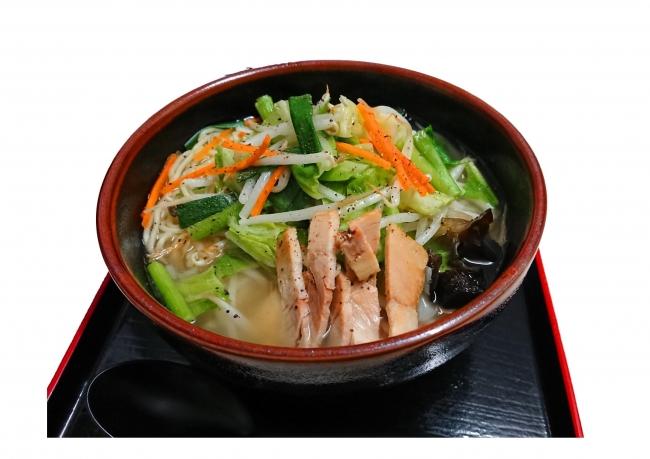 【八ヶ岳PA(下り)】塩糀野菜ラーメン