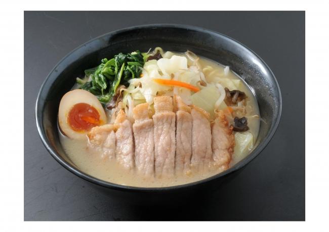 【 諏訪湖SA(下り)】肉揚げ塩糀タンメン