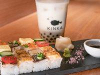 KINKA sushi bar izakaya 三軒茶屋「MAPLE CHAPIOCA BUBBLE TEA (メープル チャピオカ バヴォー ティー)」