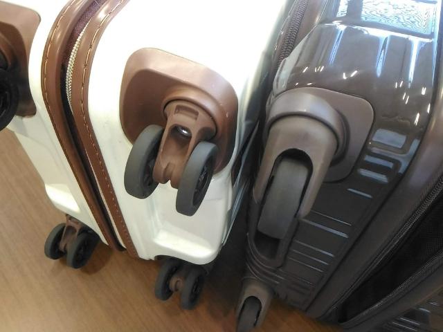 スーツケースの選び方キャスター