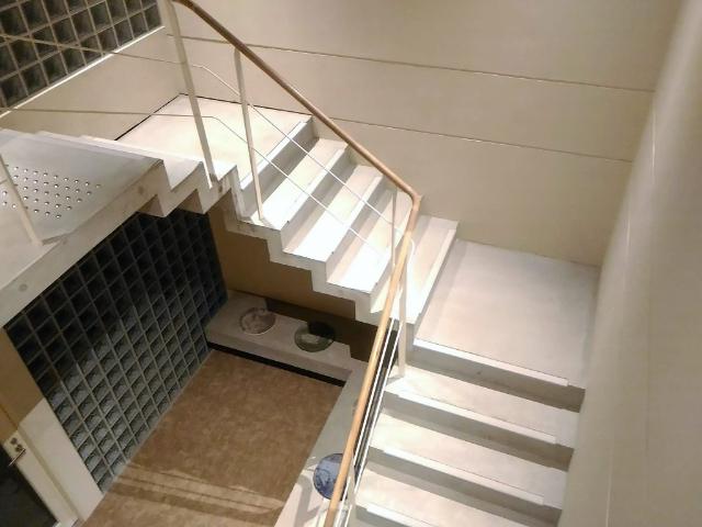 ショウナイホテルスイデンテラス階段