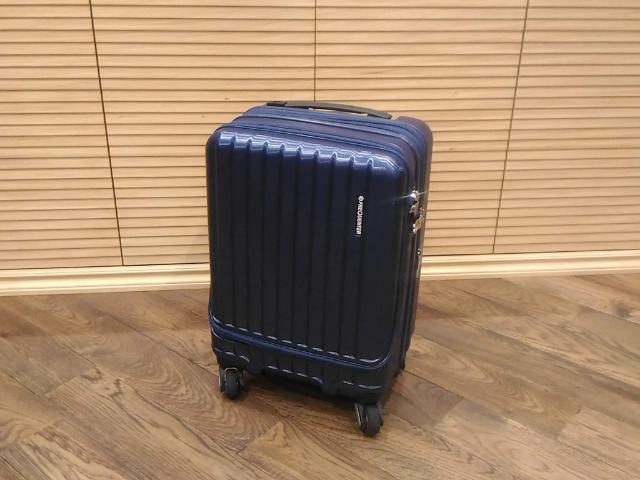スーツケースのトレンドラウンドオープン