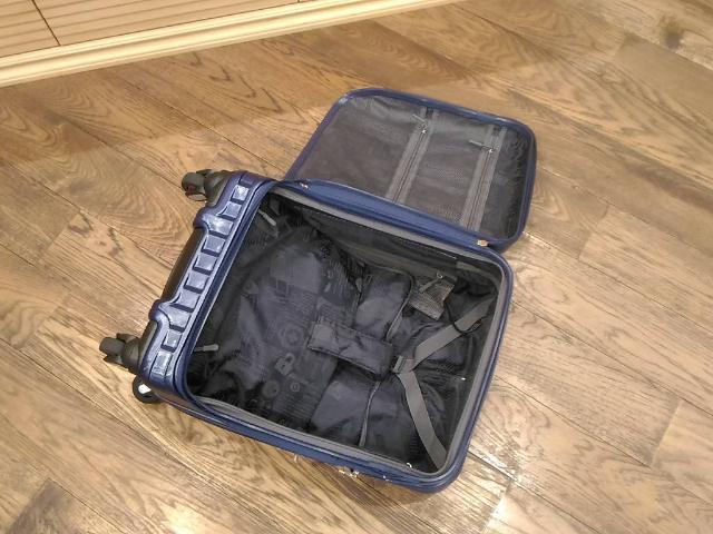 スーツケースのトレンドラウンドオープン2