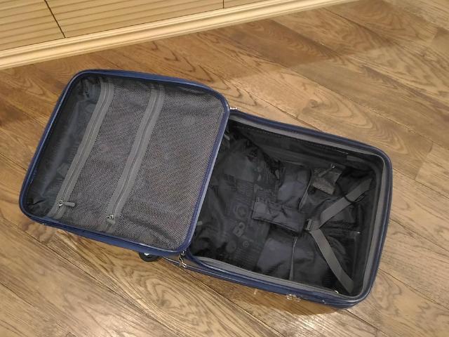 スーツケースのトレンドラウンドオープン4