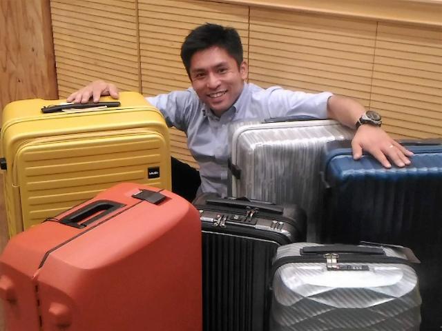 スーツケースの伝道師プロフィール