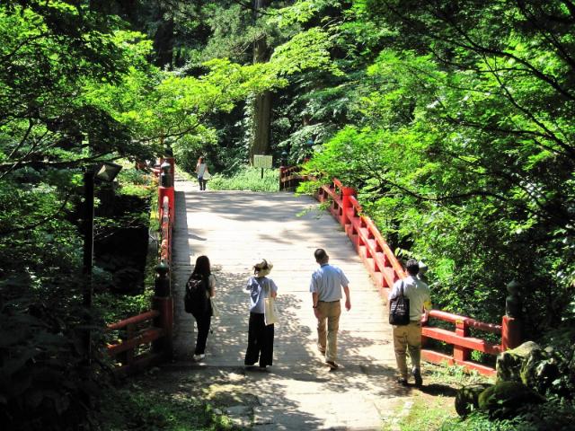 羽黒山神橋