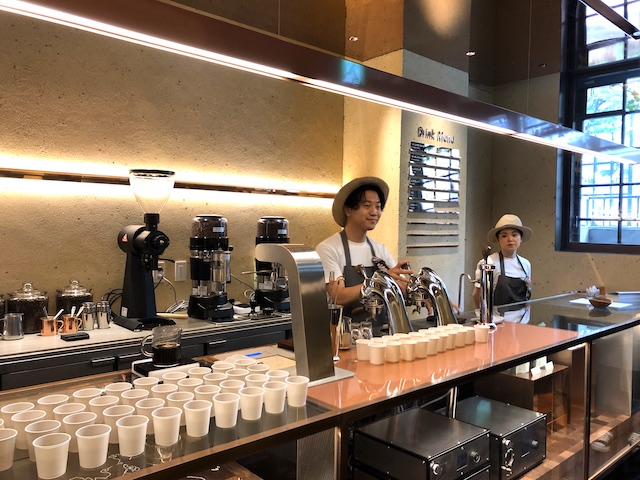 imperfect 表参道 コーヒー