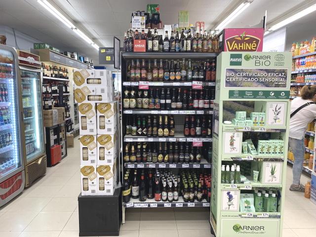 スペイン バスク ビルバオ スーパー