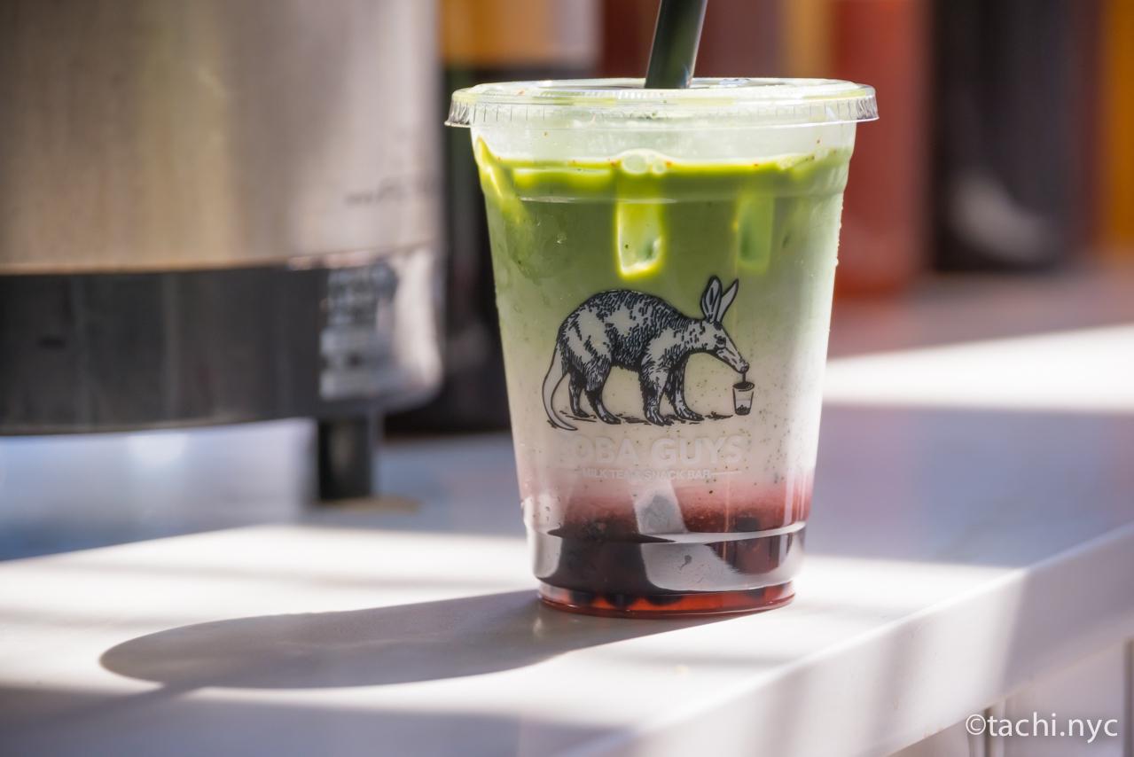 Boba Guys Strawberry Matcha Latte