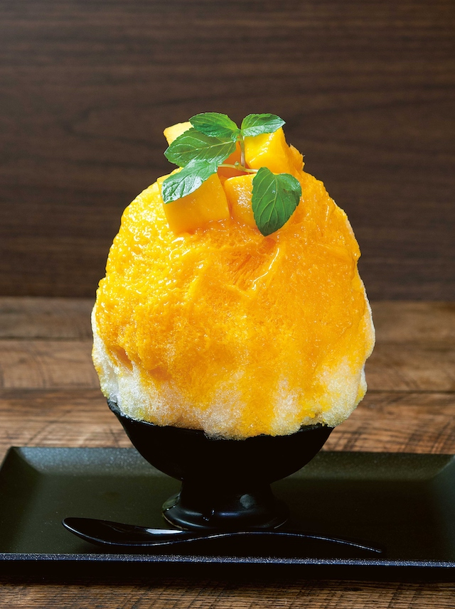 ジロー珈琲 かき氷 マンゴー