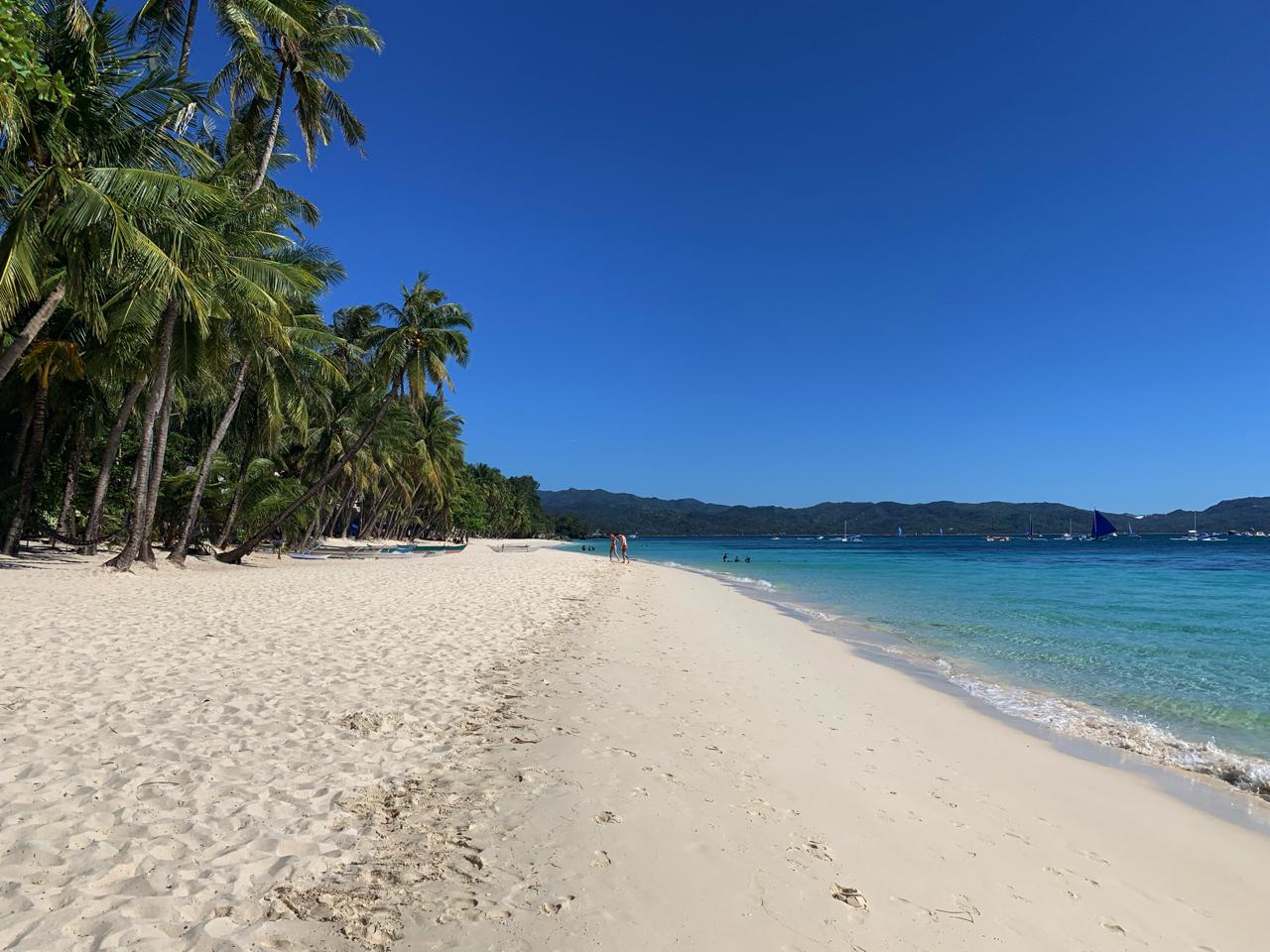 ボラカイ島ホワイトビーチ