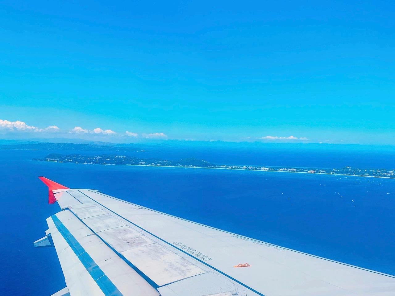 ボラカイ島上空