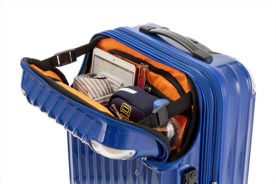 トラべリスト スーツケース モーメント 35L (ブルー)2
