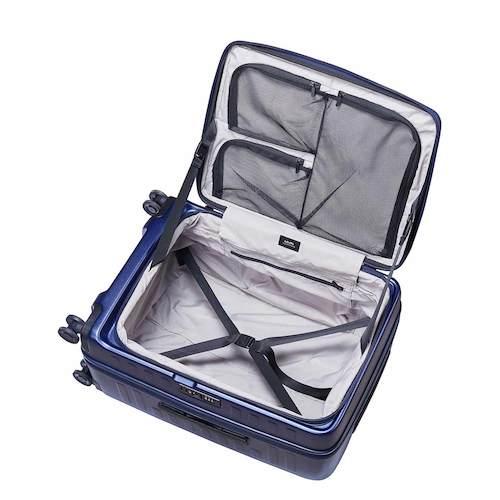 ロジェール(LOJEL) キューボ(CUBO) スーツケース 70L ネイビー1